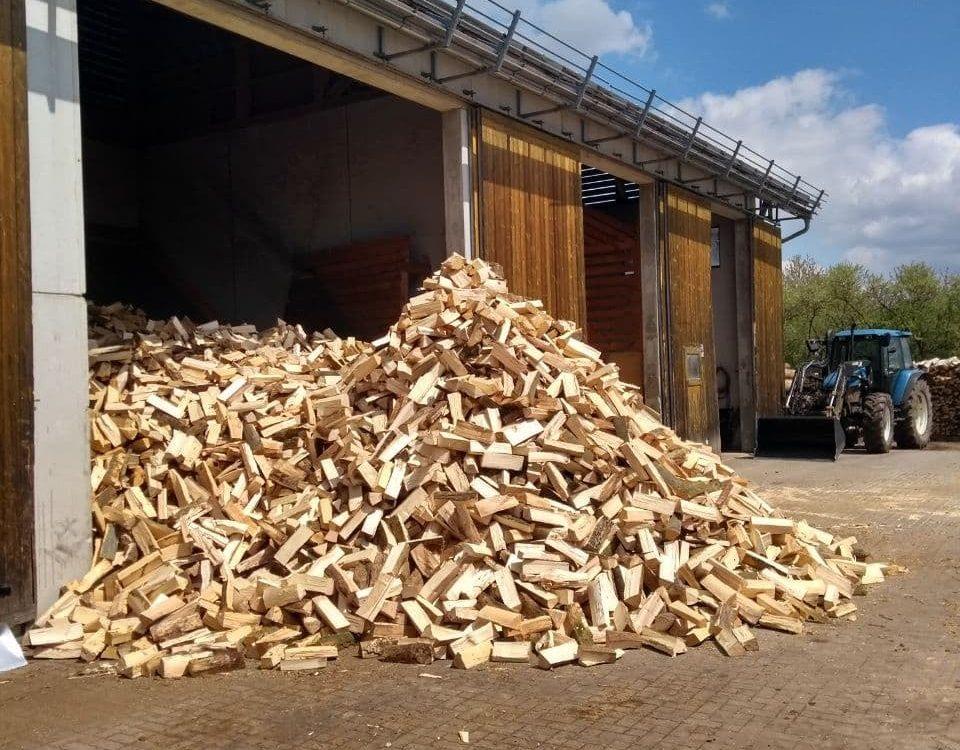 Brennholz-Produktion